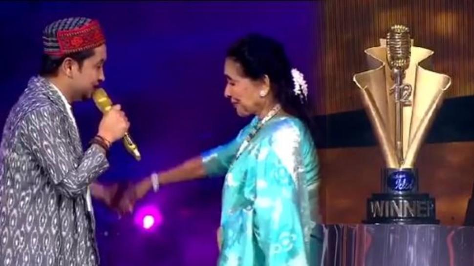 Indian Idol 12 fame Pawandeep Rajan impresses asha bhosle in grand finale |  Indian Idol 12: Pawandeep Rajan made Asha Bhosle his fan, singer said – I have fallen in love!