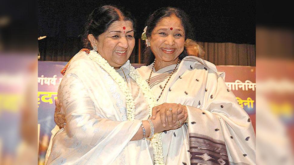 Indian Idol 12: When Asha Bhosle remembers Lata Mangeshkar's advice to allay fear |  Asha Bhosle narrated her experience to overcome her fear, had accepted this advice of Lata Mangeshkar