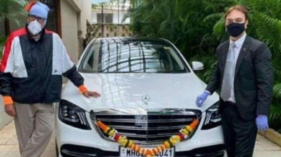 Amitabh Bachchan Mercedes-Benz S 3450 Car