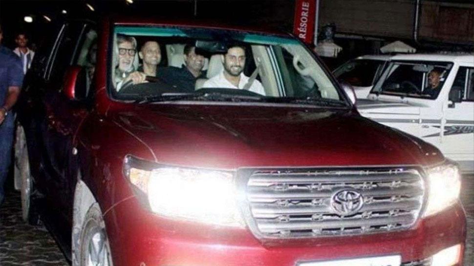 Amitabh Bachchan Car Collection Toyota Land Cruiser