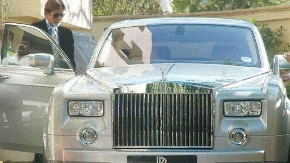 Amitabh Bachchan Car Rolls-Royce Phantom