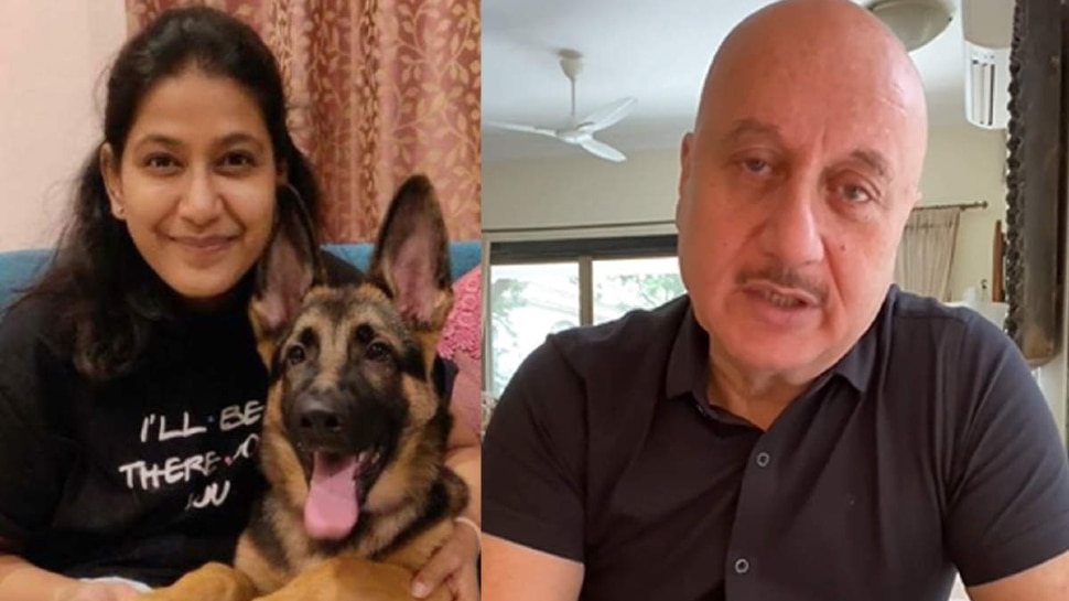 Anupam Kher Shared Last Message from The Kashmir Files Line Producer Sarahna |  Anupam Kher's film producer commits suicide, actor shares last message on social media