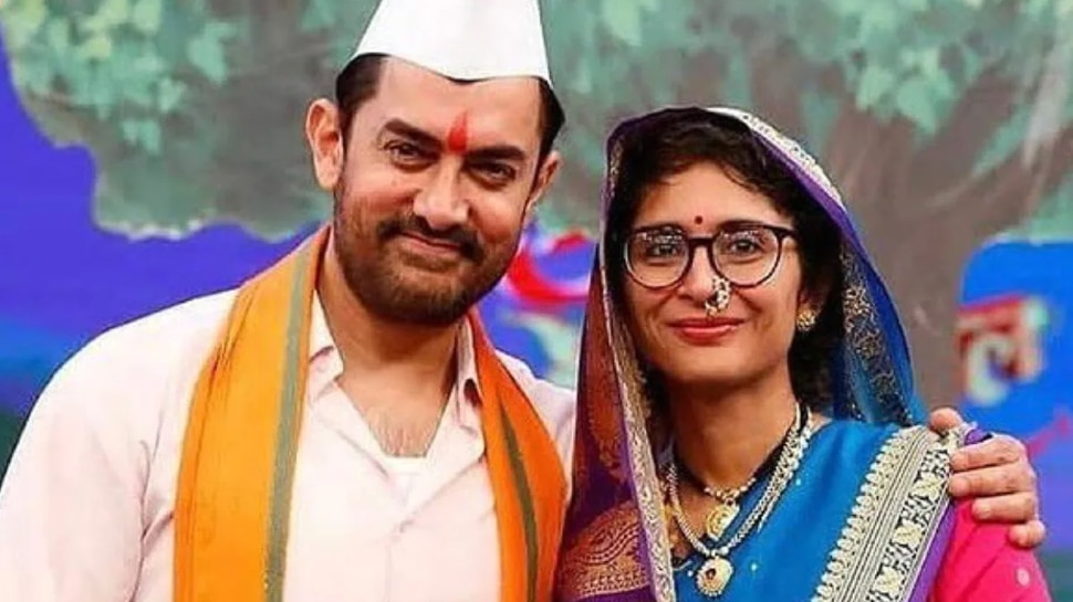 Aamir Khan And Kiran Rao Spotted Together Laal Singh Chaddha Film Set after Divorce    Aamir Khan and Kiran Rao reunited after divorce, picture from the sets of the film surfaced