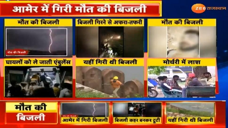 आसमान से बरसी आफत: Rajasthan में आकाशीय बिजली गिरने से 21 लोगों की मौत