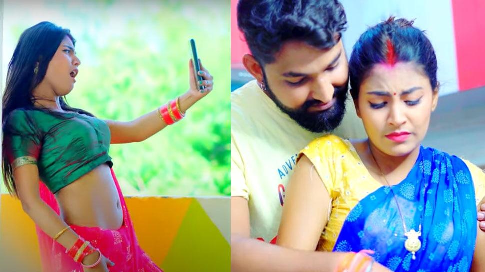 Antra Singh Priyanka Bhojpuri Song Bada Balam Kalkata went Viral on Social Media |  This Bhojpuri song of Antra Singh Priyanka went viral with the release, Mahi showed bold acts