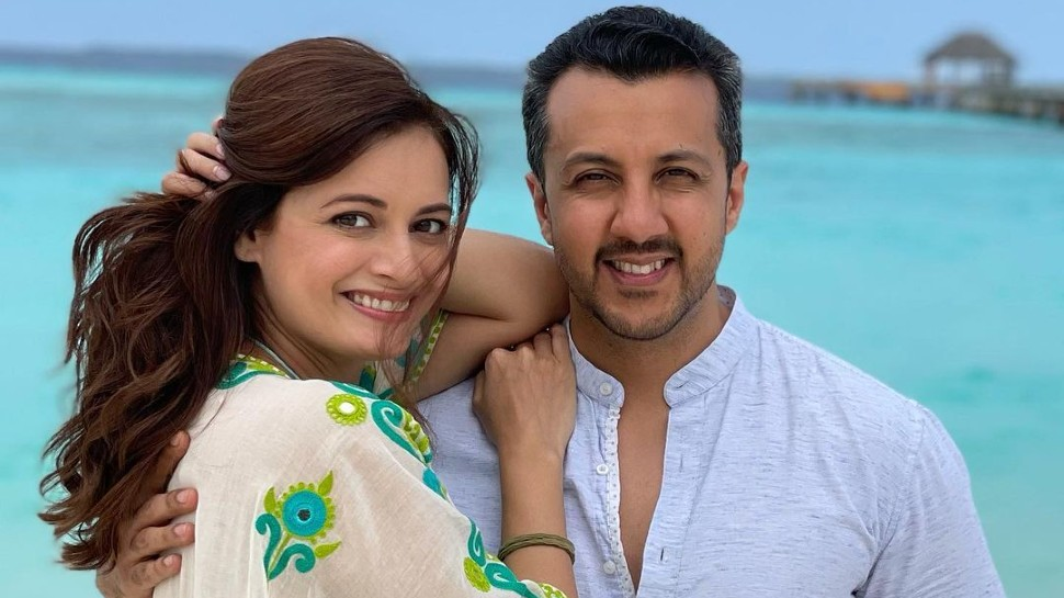 Dia Mirza gives Premature birth to baby boy Avyaan Azaad Rekhi on 14 may 3 months after wedding |  Dia Mirza gave birth to a son after 3 months of marriage, now told a cute name