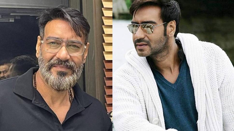 Ajay Devgn's white beard created a ruckus on the internet, failed the good in looks.  Ajay Devgn White Beard Look Gone Viral On Internet