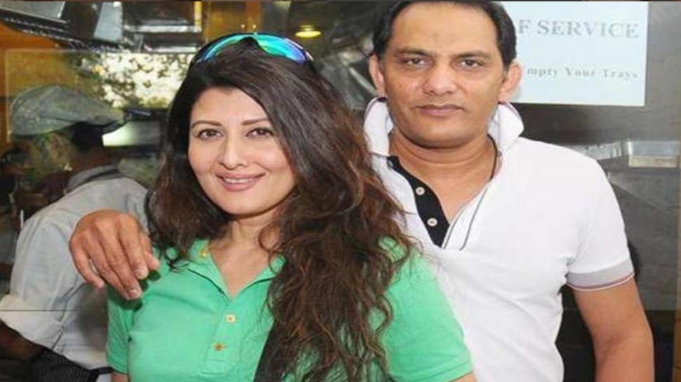 mohammad azharuddin and sangeeta bijlani