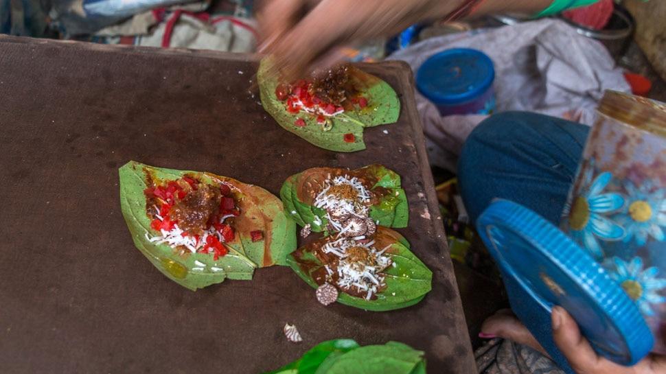 Consumption of betel is considered auspicious