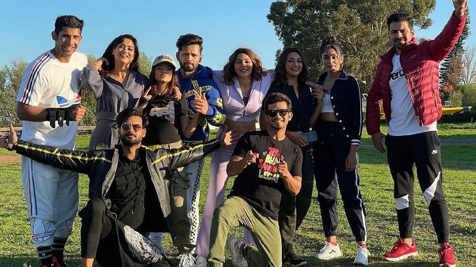 Khatron Ke Khiladi 11 first elimination is nikki tamboli |  Khatron Ke Khiladi 11: Because of this Rohit Shetty's mercury rose, the first contestant left from the show