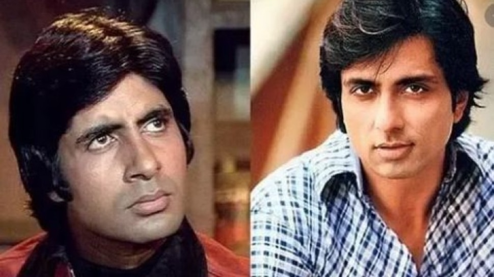 Amitabh Bachchan Shared Throwback Photo On Instagram, Fans Called Him Sonu Sood |