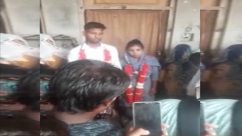 अनोखी शादी: गर्लफ्रेंड का जन्मदिन मनाने पहुंचा प्रेमी, गांव वालों ने पकड़कर करा दी शादी