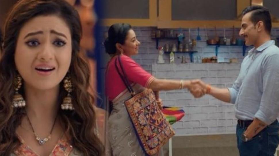 Anupama Spoiler Alert: Vanraj proposes anupama for friendship kavya is busting in anger |  Vanraj extended his hand of friendship towards Anupama, Kavya turned red with anger
