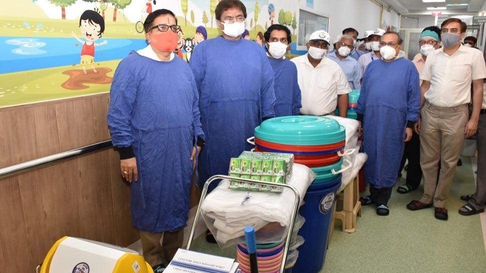 Kota : जेके लोन अस्पताल के NSUI की पहली बारिश में खुली पोल, कोचिंग संस्थान ने उठाई जिम्मेदारी