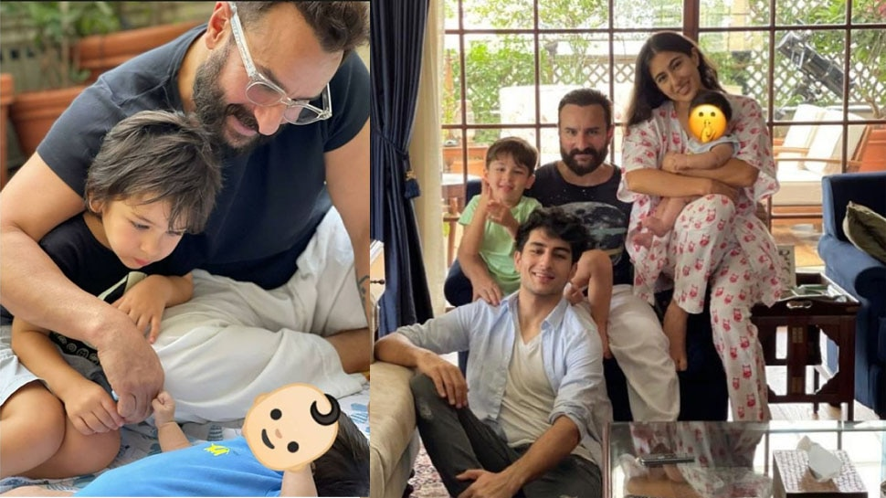 Why Saif Ali Khan and Kareena Kapoor Khan Constantly Hiding the Face of Second Child Jeh |  Sara Ali Khan shared a picture with Jeh, but Kareena's son's face could not be seen again