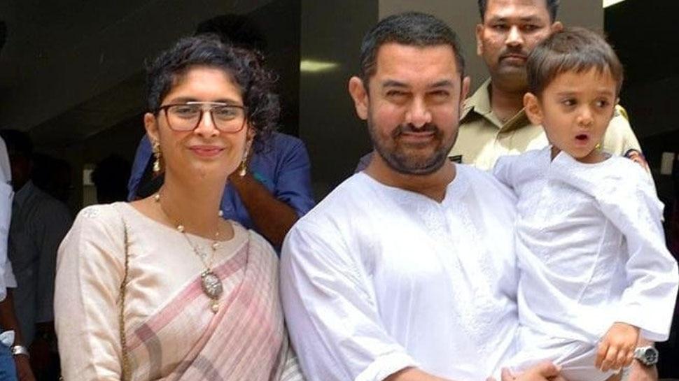 Aamir Khan Photos with Wife Kiran Rao