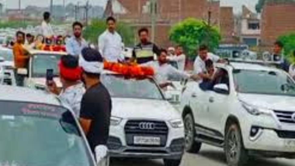 हूटर रैली निकालने वाले सपा नेता धर्मेंद्र यादव की संपत्ति होगी कुर्क, DM ने जारी किए आदेश