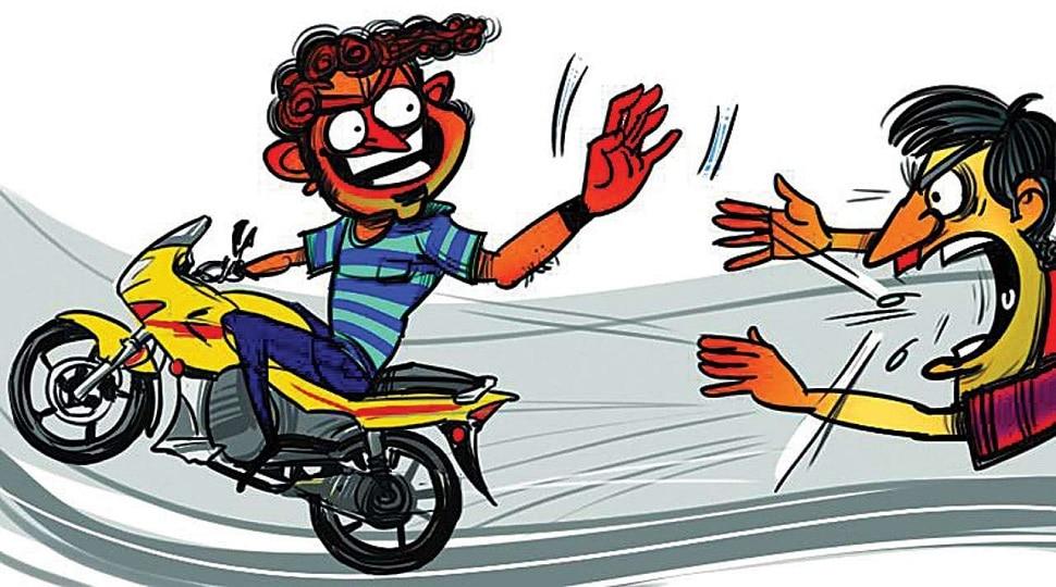 औरंगाबाद में बाइक चोर से लोग परेशान, पलक झपकते ही गायब हुई बाइक