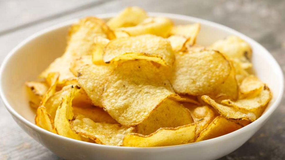 Do not eat Chips with beer and liquor