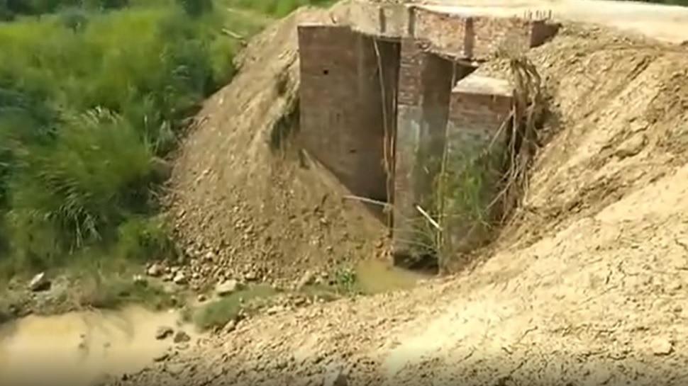 प्रयागराज में भू माफिया की कारगुजारी, अवैध प्लाटिंग के लिए नदी पर कब्जा कर बना दिया पुल, केस दर्ज