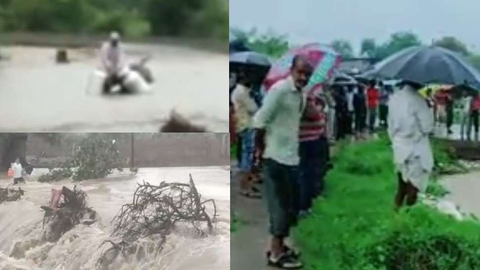 MP के इस जिले में बारिश का कहरः नाले में बहा लड़का, मां के साथ जा रहा था मंदिर; कई गांव जलमग्न