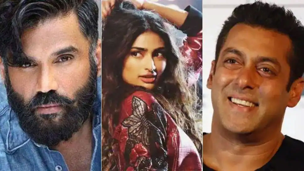 Salman Khan apologizes to Suniel Shetty's Daughter Athiya Shetty with folded hands, for this |  Salman Khan apologized with folded hands to Athiya!  Suniel Shetty reacted