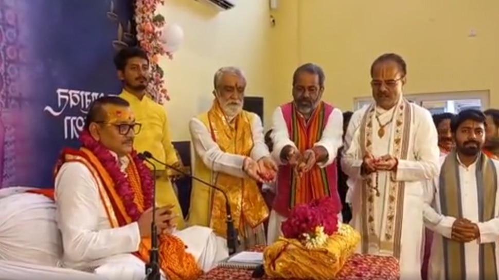 शिक्षा-दीक्षा लेकर आध्यात्म की राह चले पूर्व DGP गुप्तेश्वर पांडेय, वृंदावन में सुनाएंगे श्रीमद् भागवत कथा