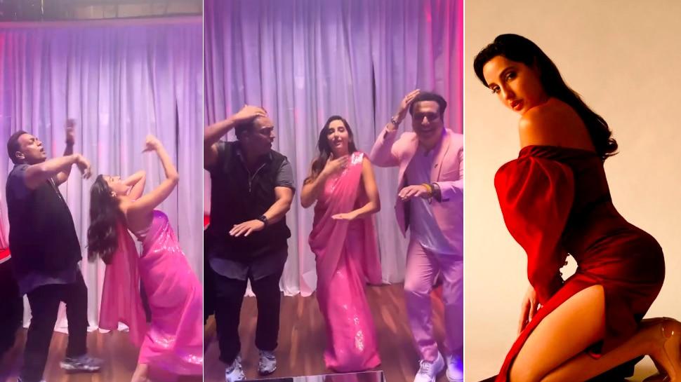 Zaalima Coca Cola पर Nora Fatehi, गोविंदा और गणेश आचार्य का जबरदस्त डांस Viral