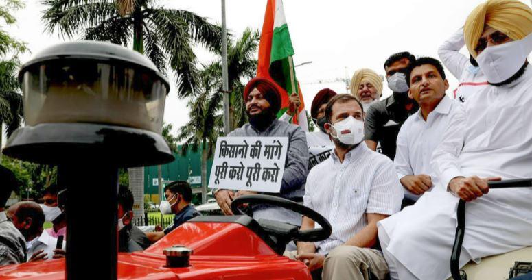 Rahul Gandhi की ट्रैक्टर राइड पर पुलिस सख्त, Vehicle Owner की हुई पहचान