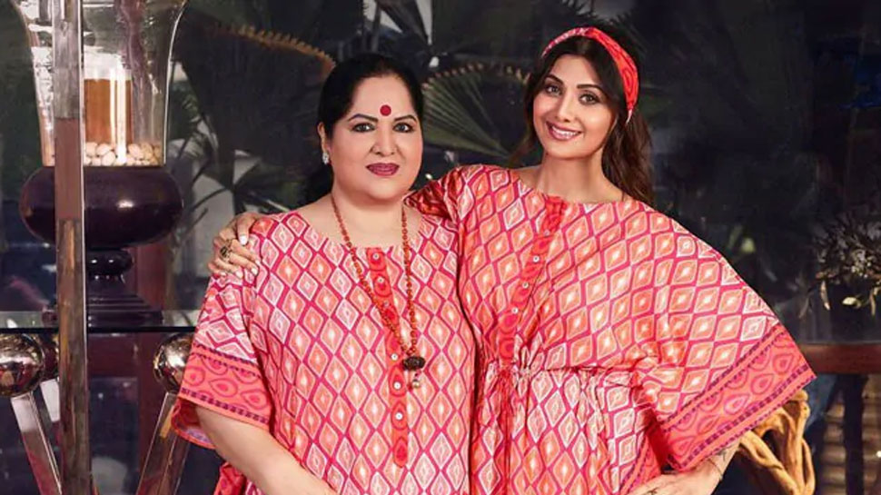 Shilpa Shettys mother Sunanda Shetty filed a police complaint, know what is the matter |  Shilpa Shetty's mother Sunanda Shetty filed a police complaint, know what is the matter