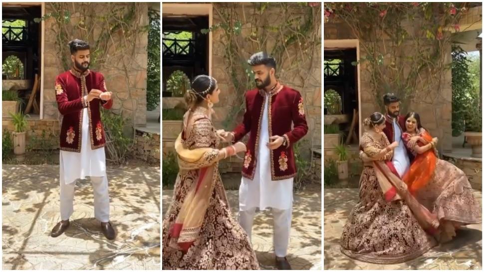 Wedding Video: शादी के बाद पति को मिला 1+1 का ऑफर, चेहरे पर दिखा Shocking Reaction
