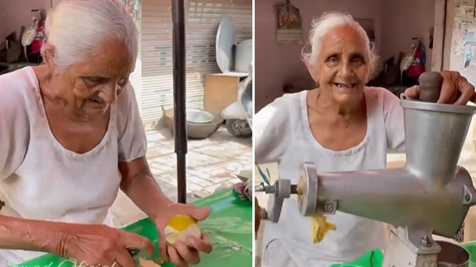 जूस बेच रही दादी का Video देख इमोशनल हुए पंजाबी सिंगर, लोग बोले- मदद कर दो भाई