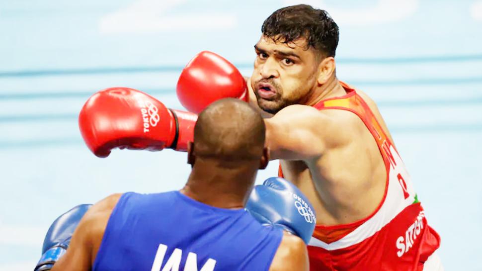 Tokyo Olympics: मेडल जीतने के करीब पहुंचे बॉक्सर सतीश कुमार, क्वार्टर फाइनल में बनाई जगह