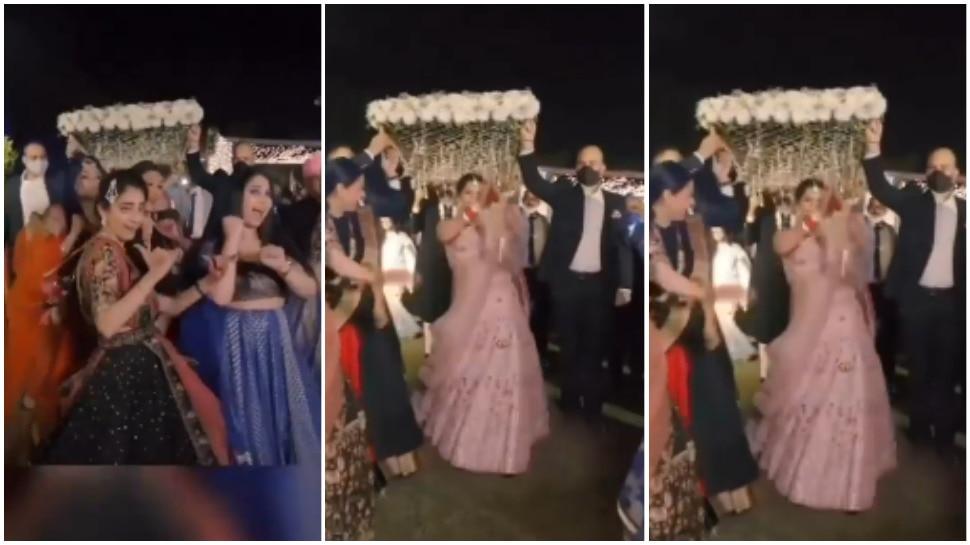 Bride Entry Video: दूल्हों की तरह हुई दुल्हन की एंट्री, खुद की शादी में लाई बारात