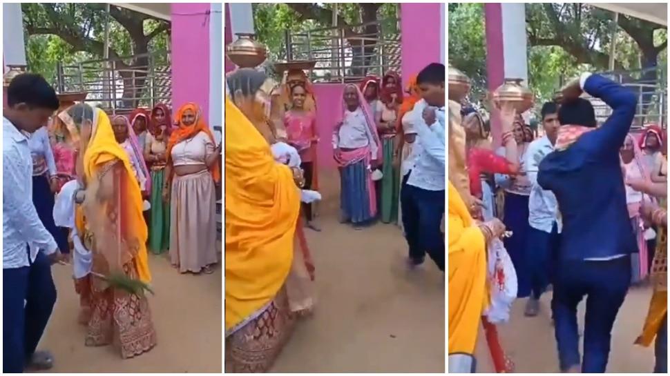 Viral Video: दुल्हन को अचानक पीटने लगा भाई, दूल्हे ने आकर किया बीच-बचाव