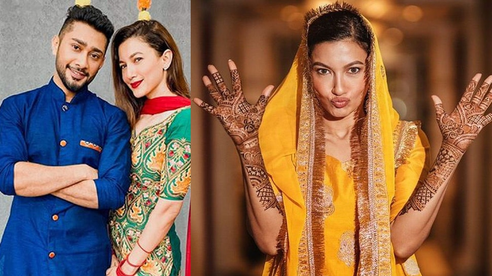 Zaid Darbar Was About to quit the marriage with Gauahar Khan for not putting up mehendi |  Zaid Darbar was about to break the relationship for not applying Mehndi, Gauahar Khan handled the matter like this on the last occasion