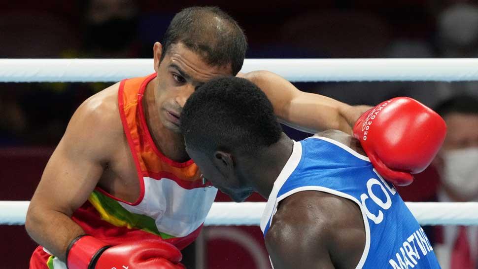 Tokyo Olympics: Boxing में Amit Panghal मेडल की दौड़ से बाहर, इस खिलाड़ी ने दी मात