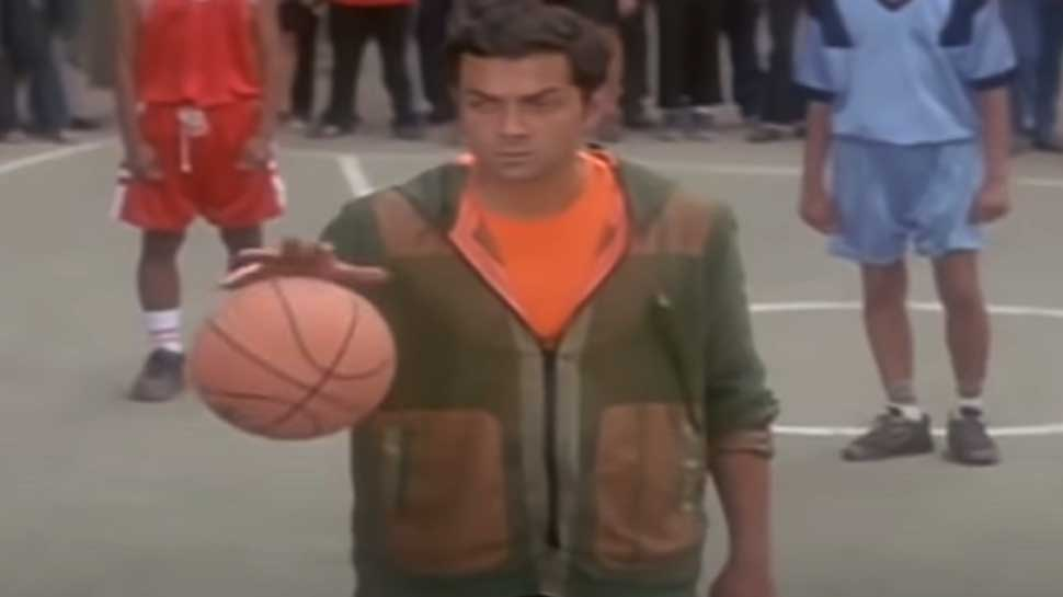 Bobby Deol Basketball