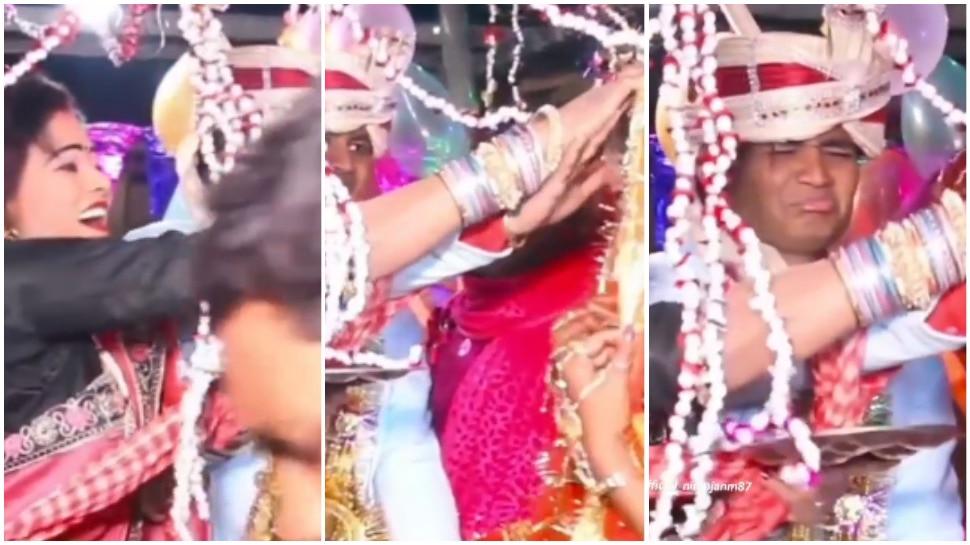 Wedding Video: देवर की शादी में खुश हुईं भाभी, जबरदस्ती भरवाने लगीं दुल्हन की मांग