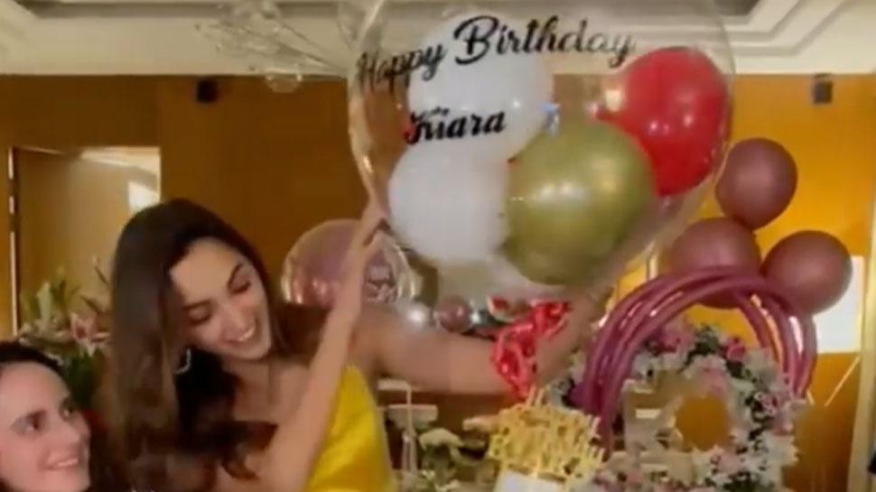 Kiara Advani rocked in the birthday party, shared the INSIDE VIDEO |  Kiara Advani rocked the birthday party, shared the INSIDE VIDEO