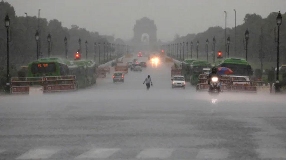 Weather Update: Delhi में मौसम हुआ सुहाना, UP; हरियाणा और राजस्थान में भी आज बारिश का अनुमान