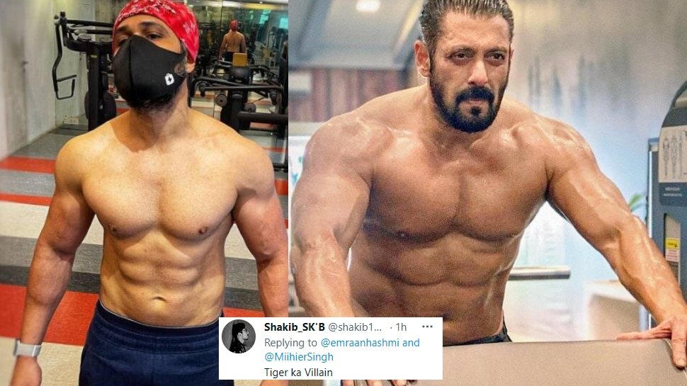 Emraan Hashmi Shared Photo of his training on social media for his upcoming movie tiger 3 |  Emraan Hashmi is taking tremendous training to mess with Salman Khan, the body seen in the photo