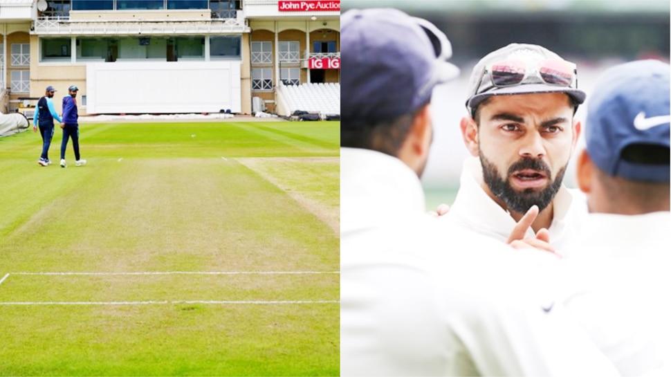 IND vs ENG: टीम इंडिया के लिए बुरी खबर, पहले टेस्ट की पिच की फोटो आई सामने