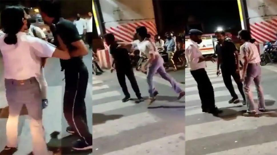 Video: Lucknow में महिला ने Cab Driver की बीच सड़क पर की पिटाई, जानें क्या है पूरा मामला