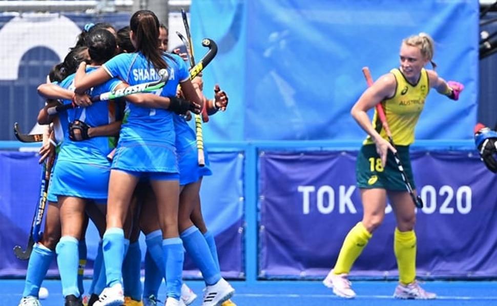महिला हॉकी टीम ने रच दिया इतिहास, ऑस्ट्रेलिया को हराकर पहली बार सेमिफाइनल में पहुंची