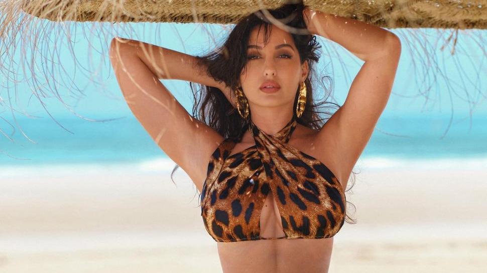 Nora Fatehi shared a video of doing sunbath on her social media platform |
