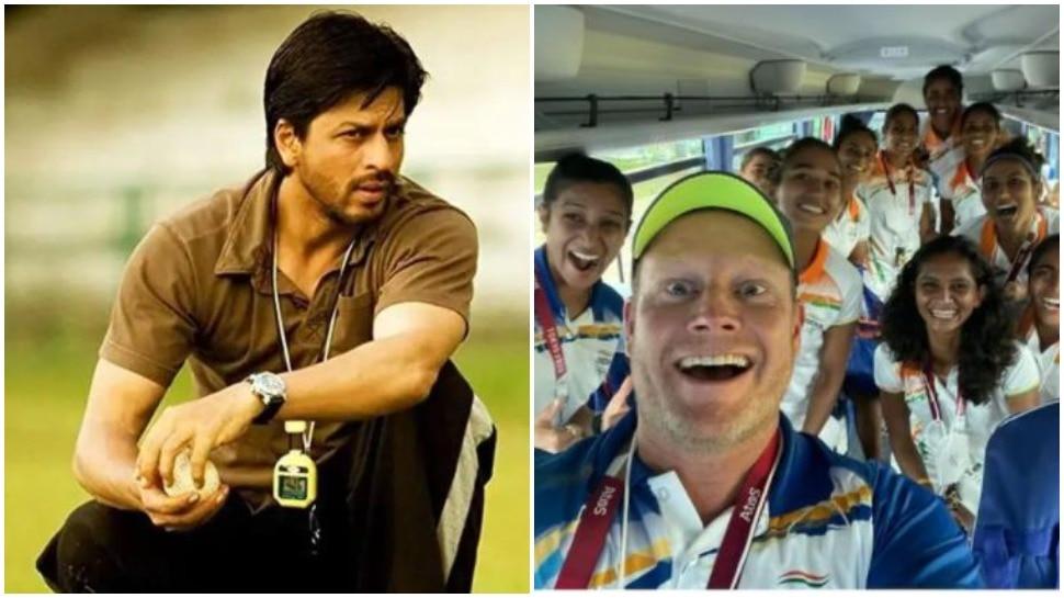 चक दे इंडिया के कोच 'कबीर खान' ने महिला हॉकी टीम को मजेदार अंदाज़ में दी बधाई, बोले- गोल्ड लेकर आना...