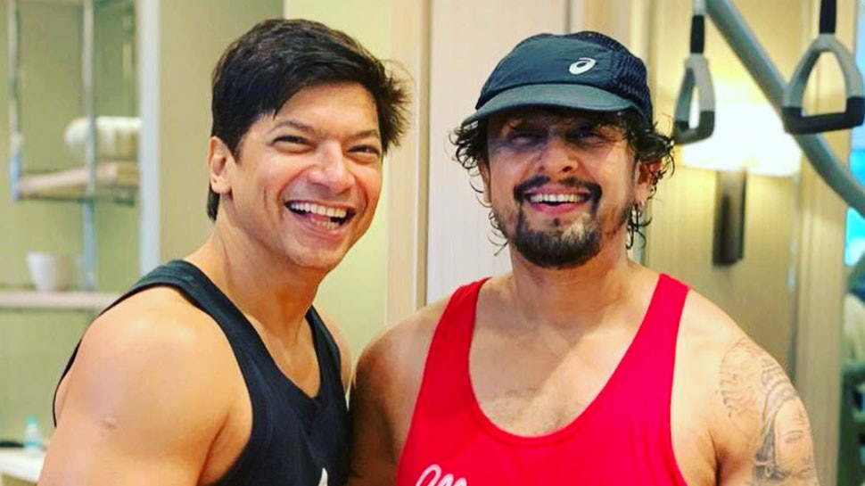 Shaan and Sonu Nigam latest photo together goes viral here's why fans are intrigued |  Shaan wished Sonu Nigam on his birthday like this, but fans got confused