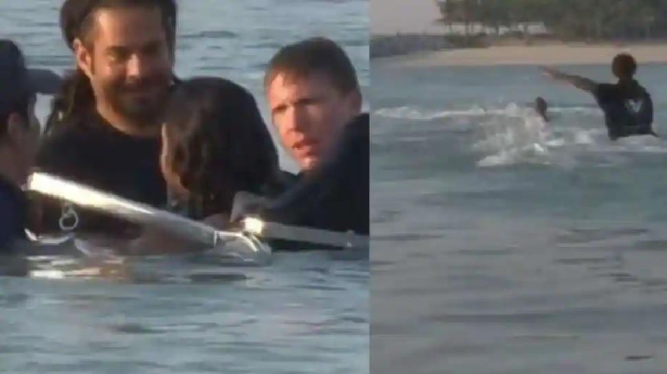 Viral Video: डूबने लगा दोस्त तो दौड़कर पानी में पहुंचे Dubai के क्राउन प्रिंस, फिर हुआ ऐसा