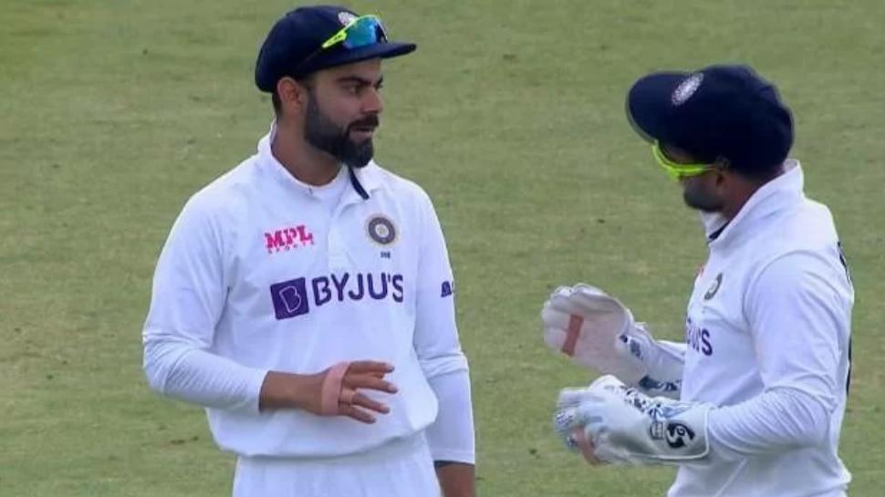 IND VS ENG: DRS लेने से डर रहे थे Virat Kohli, लेकिन Rishabh Pant की चतुराई से भारत को मिल गया विकेट